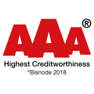 Highest Creditworthiness ©Bisnode 2018