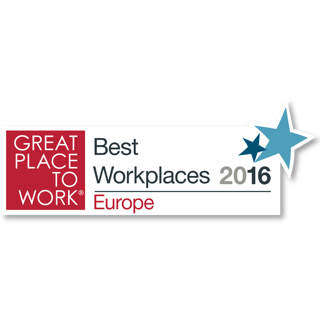 Great Place to Work: Best Workplaces Europe & Finland 2016