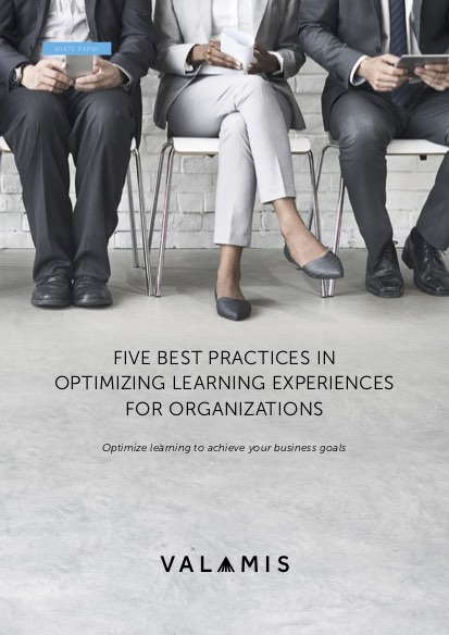 Five Best Practices in Optimizing Learning Experiences