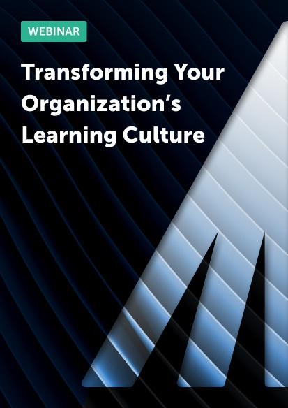Transforming your organization's learning culture
